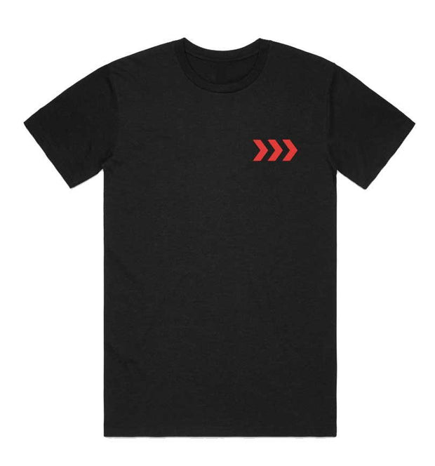 Santa Cruz Syndicate Chevron Tee by www.rushsports.co.za