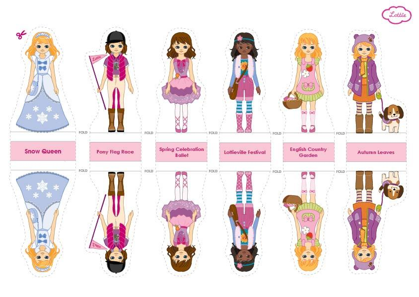 Lottie Paper Doll Printables