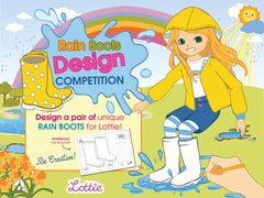 Lottie Rain boots Design Competition
