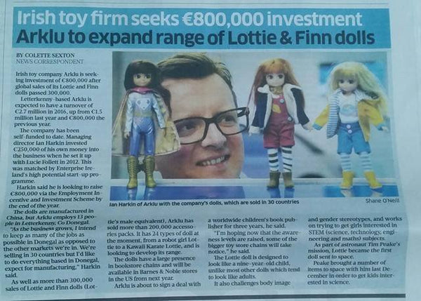 Lottie Dolls Sunday Business Post
