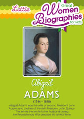Abigail Adams biography for kids