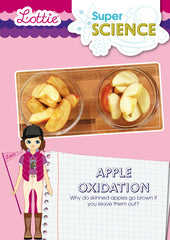 Apple oxidation activity for kids