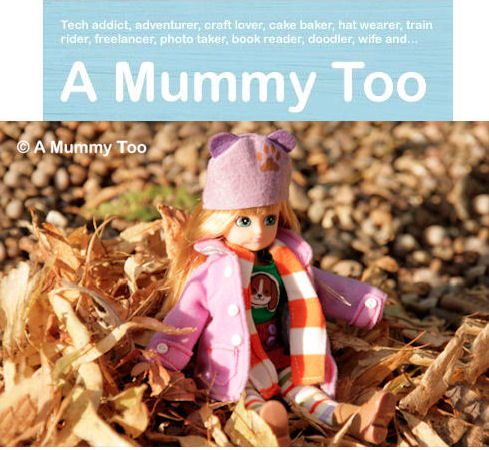 Autum Leaves Lottie doll by Mummyblogger a Mummy too