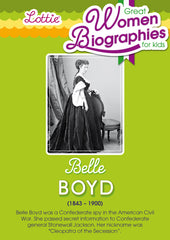 Belle Boyd biography for kids