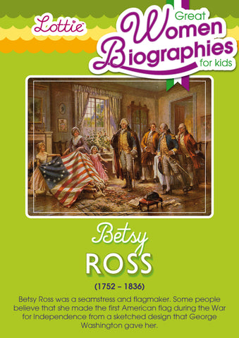 Betsy Ross biography for kids