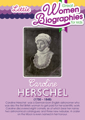 Caroline Herschel biography for kids