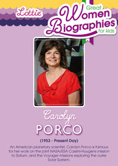 Carolyn Porco biography for kids