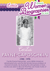 Cecilia Payne-Gaposchkin biography for kids