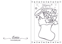 christmas coloring cards fun activities and printables lottie dolls