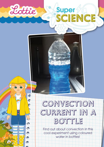 Convention current in a bottle activity for kids