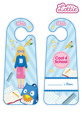 Cool 4 School Lottie printable Door Hangers