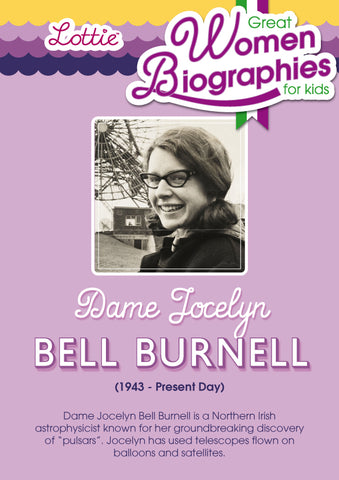 Dame Jocelyn Bell Burnell biography for kids