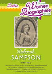 Deborah Sampson biography for kids
