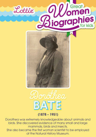 Dorothea Bate biography for kids