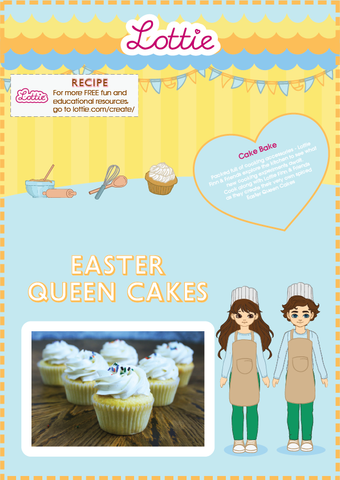 Easter Queen Cakes Recipe