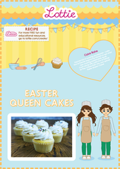 Lottie Easter Queen Cakes Recipe