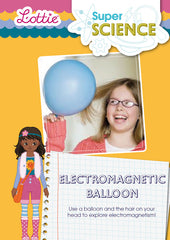 Electromagnetic baloon activity for kids