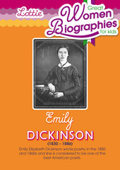 Emily Dickinson biography for kids