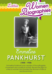 Emmeline Pankhurst biography for kids