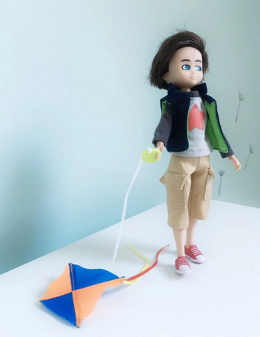 Kite Flyer Finn Boy Doll Lottie Dolls