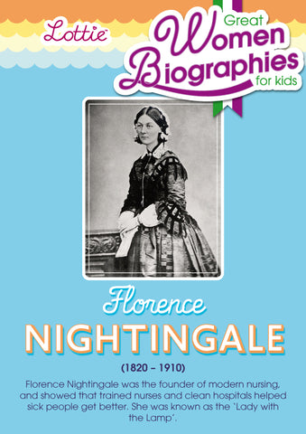Florence Nightingale biography for kids