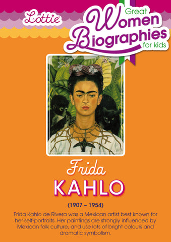 Frida Kahlo biography for kids