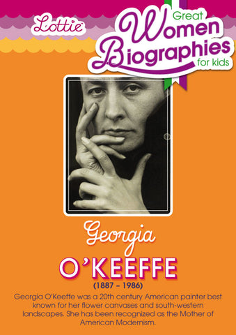 Georgia O'Keeffe biography for kids