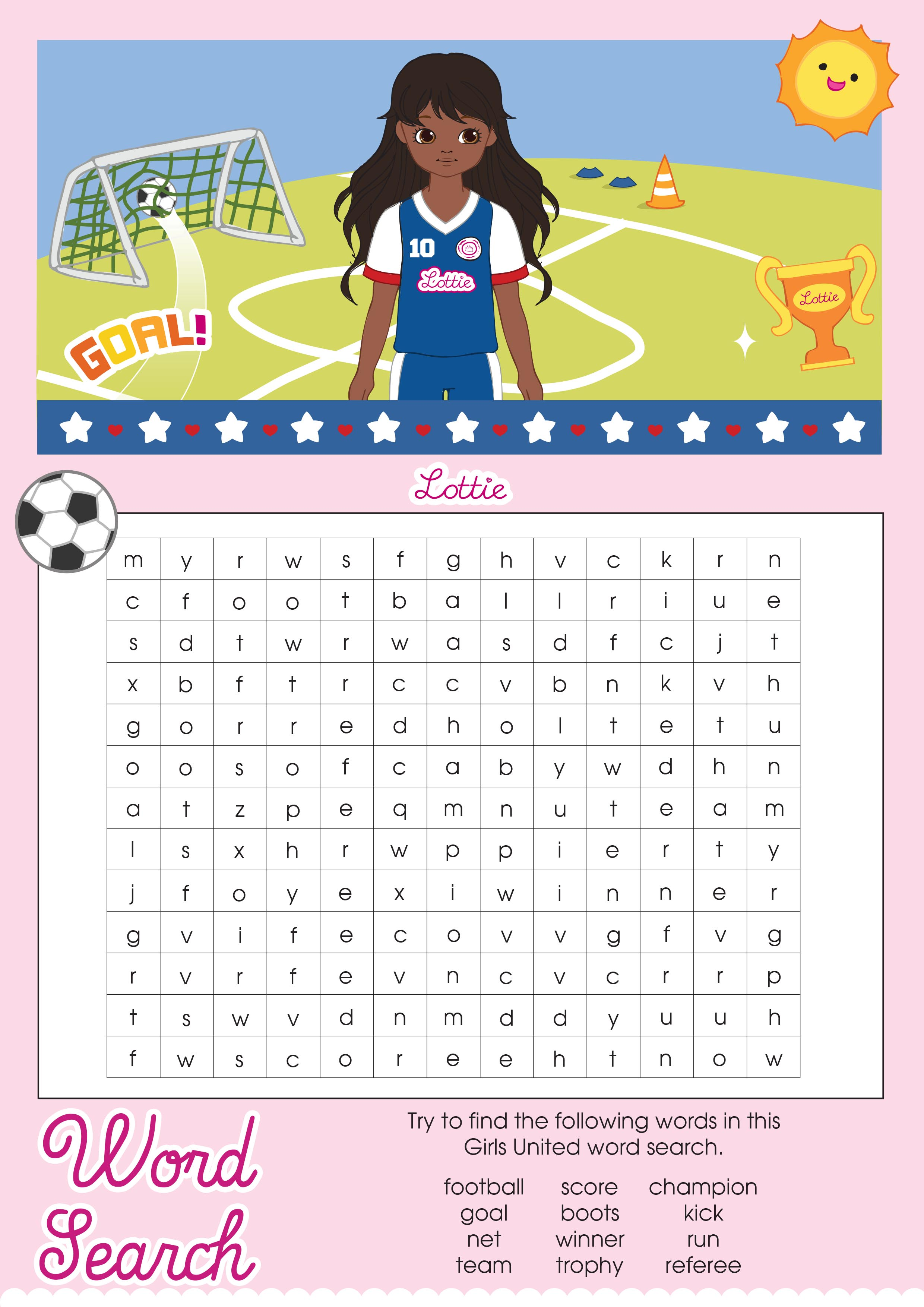 Alfa img - Showing > Fun Word Searches for Girls