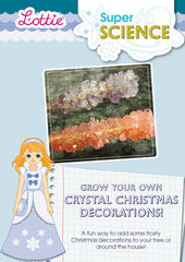 Grow your own crystal Christmas decorations activity for kids