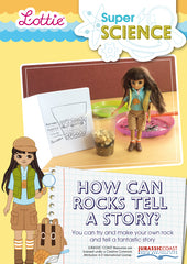 How can rocks tell a story activity for kids