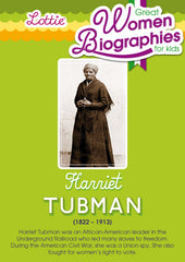 Harriet Tubman biography for kids