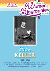 Helen Keller biography for kids