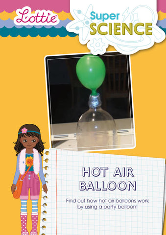 Hot air balloon activity for kids