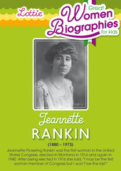 Jeannette Rankin biography for kids