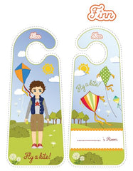 Finn Kite Flyer printable door hangers