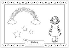 Sinéad Doll Colouring Sheet