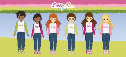 lottie dolls range with boys dolls
