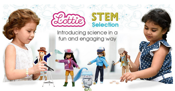 Lottie STEM dolls for kids Ada Lovelace Day