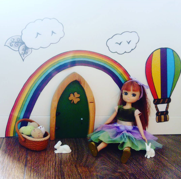 Lottie Dolls Irish Fairy Doors
