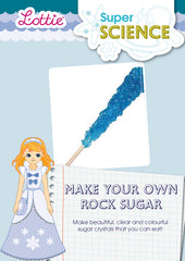 Make your own rock sugar activity for kids