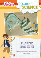 Plastic bag kite activity for kids