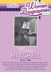 Maria Mitchell biography for kids