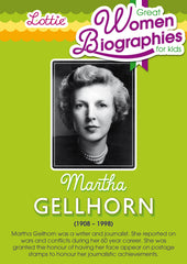 Martha Gellhorn biography for kids