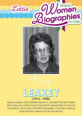 Mary Leakey biography for kids