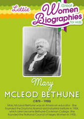 Mary McLeod Bethune biography for kids