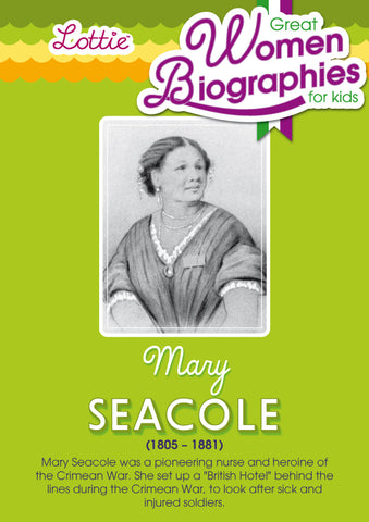 Mary Seacole biography for kids