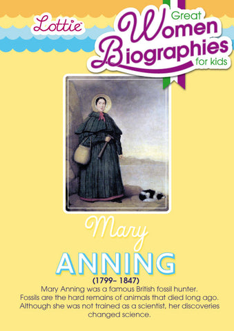 Mary Anning biography for kids