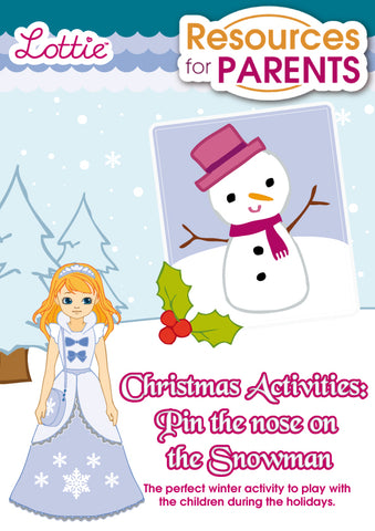 Christmas Activities Pin The Nose On The Snowman Lottie
