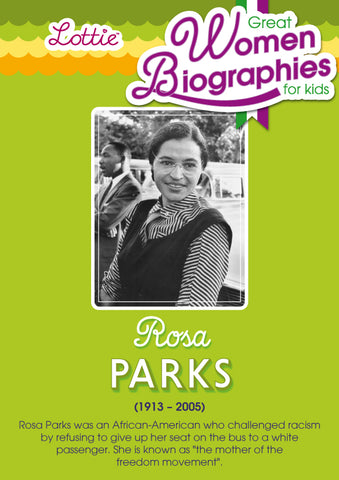 Rosa Parks biography for kids