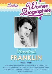 Rosalind Franklin biography for kids